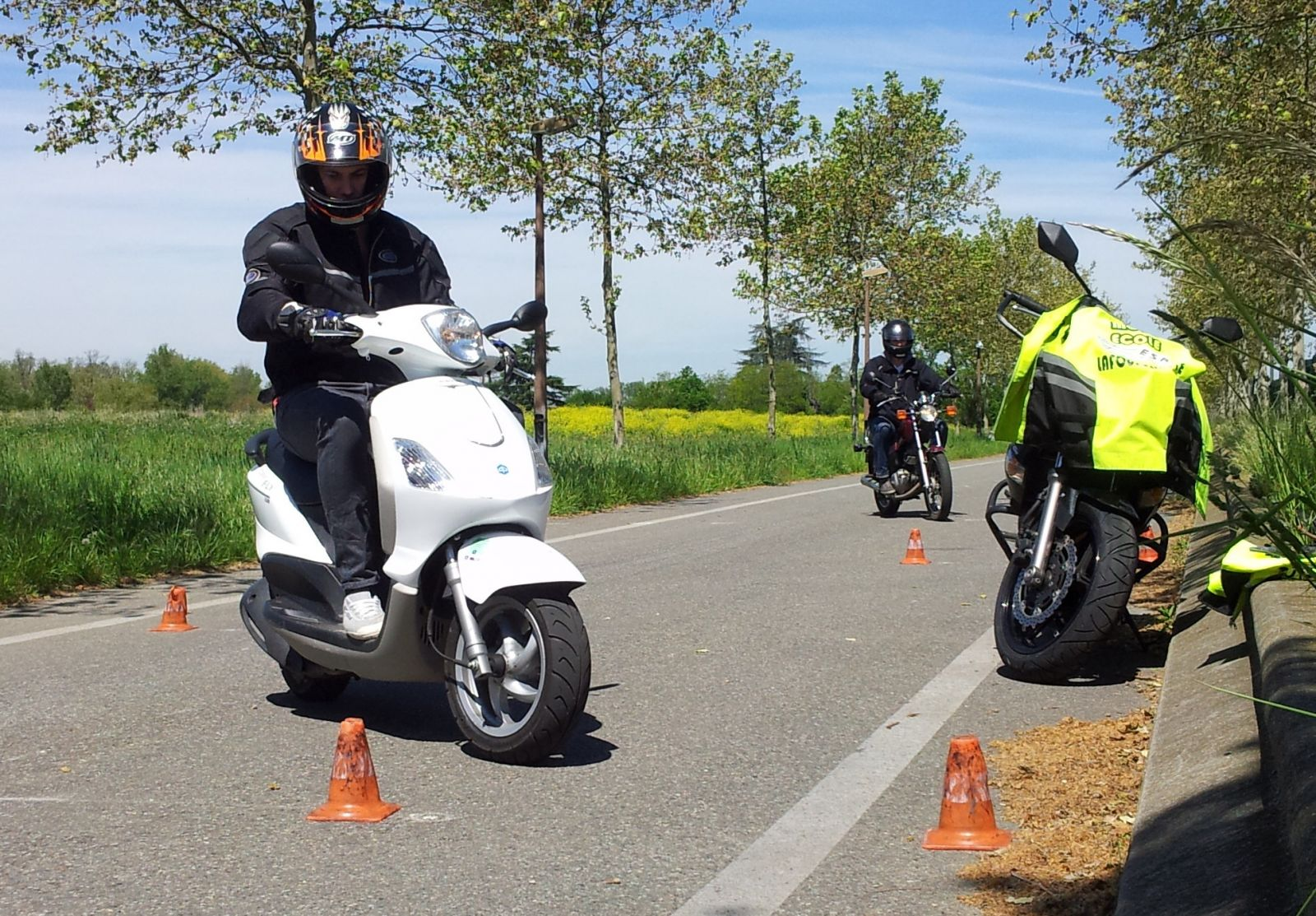 Apprendre a conduire moto 125